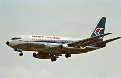 Pacific Western Boeing 737-200