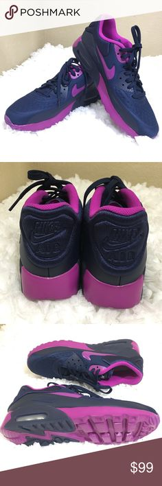 Brand New Nike Air Max Purple & Blue Brand New Color Nike Air Max Purple & Blue  Sold Out Color  Size 7  Brand New (Without) Box Nike Shoes Sneakers