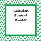 Eight EDITABLE pages that highlight a student's IEP profile!  Specifically made for students that are in an inclusive environment, these pages help...