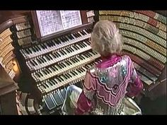 Love hearing Diane Bish play any organ -- this is the organ at West Point Chapel in New York ~~~~ The Star Spangled Banner arr. Virgil Fox - Diane Bish