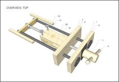 Wooden Vice Plan.