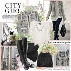 """City girl"" by helleka on Polyvore"