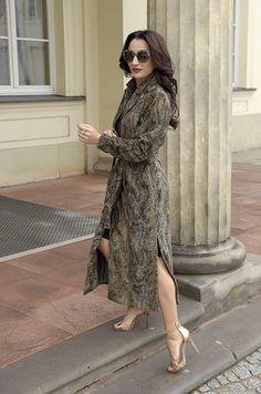 #BestLook: Justyna Steczkowska w płaszczu SI-MI