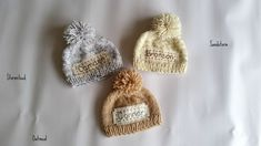 Personalized newborn hat,newborn hat,newborn coming home hat,newborn name hat,monogram newborn hat,personalized baby gifts,newborn props Baby Name Announcement, Newborn Coming Home Outfit, Personalized Baby Gifts, Newborn Baby Gifts, Newborn Photo Props, Newborn Pictures, Hand Knitting, New Baby Products, Monogram