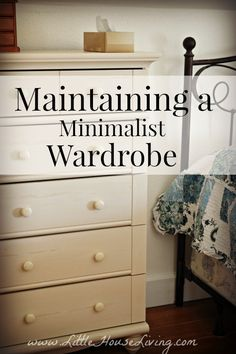 Maintaining a Minimalistic Wardrobe. How to keep your clothes under control!