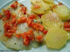 Receita da Clau: Tilápia ao forno com batatas