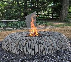 fire pit designs | Design guide for outdoor firplaces and firepits | Garden Design for ...