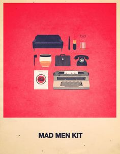 Mad Men Kit - it definitely needs a fiberglass rolling base chair as well.