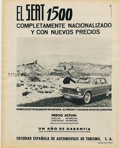 Volkswagen Group, Bilbao, Automobile, Old Things, Movie Posters, Watches, Cars, Vintage Ads, Vintage Posters