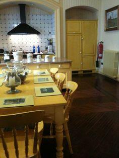 Kitchen of Hotel Palacio Ca Sa Galesa where afternoon tea and cake is served