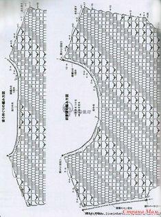 Эта туника смотрится очень стильно благодаря красивому диагональному узору. http://www.liveinternet.ru/