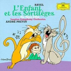 O MENINO E OS SORTILÉGIOS, DE RAVEL Maurice Ravel, Andre Previn, Berlin, Colette, Donald Duck, Disney Characters, Fictional Characters, Cats, Animals