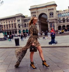 On the street Piazza del Duomo Milan www.maurodelsignore.com