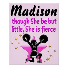 AWESOME PINK PERSONALIZED CHEERLEADING POSTER Our dazzling Cheerleader Tees and Apparel make the perfect Holiday gift. http://www.zazzle.com/mysportsstar/gifts?cg=196898030795976236&rf=238246180177746410 #Cheerleading #Cheerleader #Cheerleadergift #Lovecheerleading