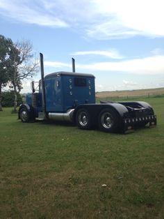 Sheehan Trucking. Alberta Canada. peterbilt 379
