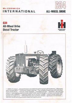 Case Ih Tractors, Ford Tractors, International Tractors, International Harvester Truck, Mario Silva, Crawler Tractor, Red Tractor, Classic Tractor, Vintage Tractors