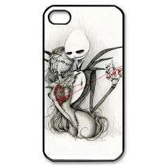diycellphone nightmare before christmas Iphone 4 4s case Hard Cases , Design your own Apple Iphone4 protect case sold by choleen, http://www.amazon.com/dp/B00D8PXJSY/ref=cm_sw_r_pi_awd_kZ8csb0N1R8NJ