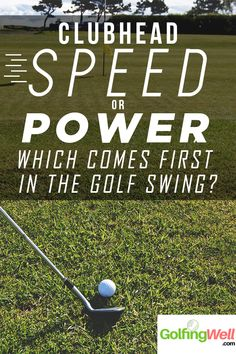 When it comes to golf swing tips, it's always about club head speed or power. Which one will improve your golf game? #golf #golfswingtips