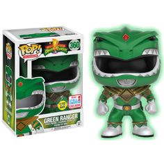 b93fa87d6d4 Funko POP! Vinyl Power Rangers - Green Ranger GITD Go Go Power Rangers