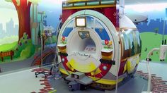 Peak inside UCSF Mission Bay's stunning new site + MRI Adventure Series suites - with Caring Suite capabilities!