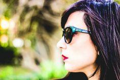 Patti Santamaría (www.shoesandbasics.com/) con nuestras gafas DIOR (http://www.andorraqshop.es/gafas/dior.html)
