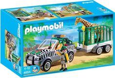 PLAYMOBIL Zoo Vehicle with Trailer - Brought to you by Avarsha.com