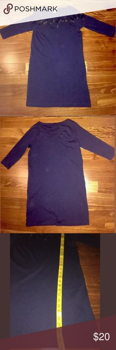 Crewcuts girls dress size 14 dark blue. Gently used, great condition. Crewcuts girls dress size 14 dark blue. Measurements and details in pictures. Crewcuts Dresses
