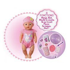 Poupon Baby Born interactif - Lansay-23455