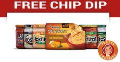 Free Tostitos Chip Dip