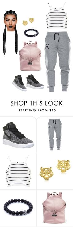 """Untitled #84"" by priscillay5 on Polyvore featuring NIKE, Topshop, Kenzo and adidas"