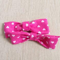 Fabric no sew bow!
