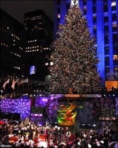 albero Rockfeller center
