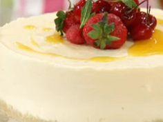 Tarta de maracuyá   Virginia Demaria Cheesecake, Pudding, Dinner, Cooking, Desserts, Food, Sweet Desserts, Tarts, Cheesecakes