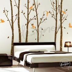 Free Owl Decal THE ORIGINAL Tree Wall Decal by designedDESIGNER, $95.00