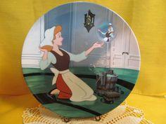 """Ltd Ed Disney plate """"Sing Sweet Nightengale"""" Cinderella Knowles"""