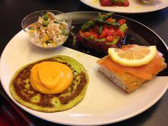 Buon giorno, buon lunedì Bimbyni e Bimbyne!!! :D                            PanCake alle Zucchine con Crema Carote e Feta...!!! :D   Provate questa ricetta e ditemi se vi piace!!! :D    http://www.bimby-ricette.it/2016/05/senza-bimby-pancake-alle-zucchine-con.html