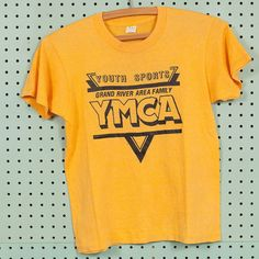 4deae43b4f23 YMCA t-shirt by Screen Stars. Tag size Youth L. 50 50