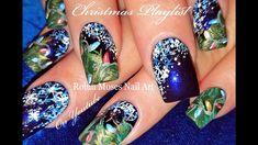 Christmas Nails | DIY Hand Painted Xmas Nail Art Design Tutorial