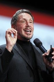 Larry Ellison  Net Worth $43,000,000,000 B CEO, Oracle Age: 68 Source of Wealth: Oracle, self-made Residence: Woodside, CA Country of Citizenship: United States Education: Drop Out, University of Chicago; Drop Out, University of Illinois at Urbana Marital Status: Divorced Children: 2 Forbes Lists #5 Forbes Billionaires #3 in United States #3 Forbes 400