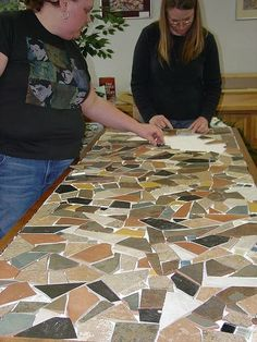 How to Make a Mosaic Table Top in 7 Steps