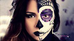 http://sosbeauty.com.br/tutorial-caveira-mexicana-sugar-skull/