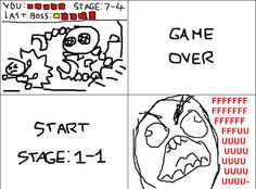 Game Over Rage