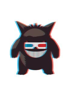 Hipster Gengar by ~AInfinity