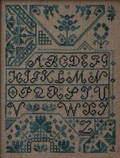 Quaker Alphabet - La D Da