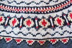 Vintage Sweater Norwegian Hand Knit 60s by dejavintageboutique
