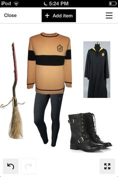 Hufflepuffs this is your uniform for quidditch