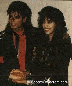 Michael with Australian Artist Brett- Livingstone Strong and Hiromichi Saeki on January 26th, 1990