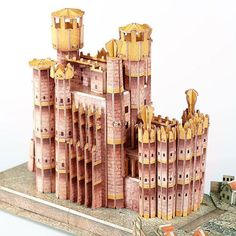 King's Landing 3D Puzzle - $30 ⋆ Game of Thrones Gift Ideas! Game Of Thrones King, Game Of Thrones Gifts, King's Landing, Used Video Games, Challenging Puzzles, All I Ever Wanted, 3d Puzzles, Gamer Gifts, Burning Candle