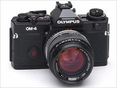 The OM-4 is an good professional manual focus camera. I love mine.