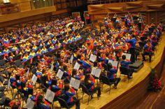 El Sistema Nacional de Orquestas y Coros Juveniles e Infantiles de #Venezuela tiene en funcionamiento 440 núcleos de desarrollo académico musical